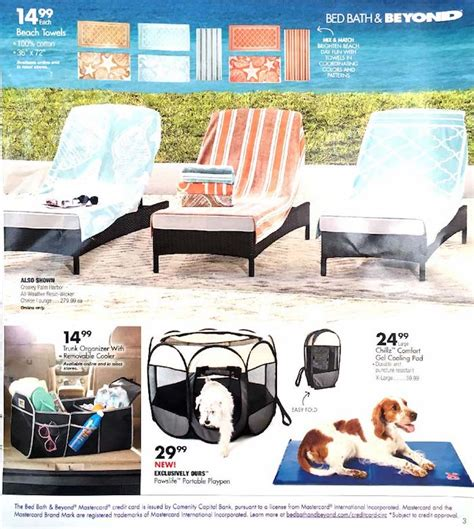 bed bath and beyond ad bed bath beyond ad weekly ads