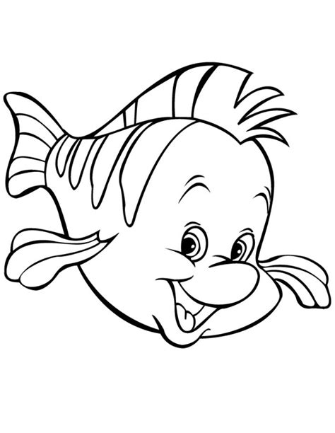 12 Bahan Mewarnai Gambar Ikan Yang Indah | Gambar kelinci
