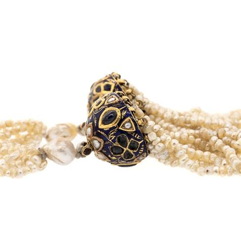 antique seed pearl sautoir necklace at 1stdibs
