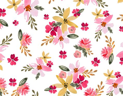 Floral Seamless watercolor floral seamless pattern patterns creative