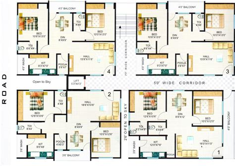 apartment plans harihara hari hara heights nizet by harihara