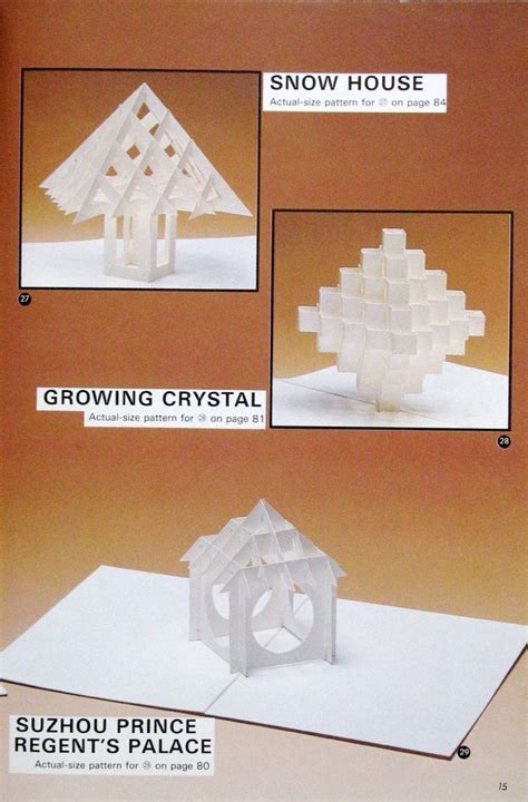 Origami Pop Up - 88 best pop up geometric origami images on