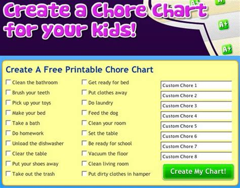 create charts free mighty behaviour chart chart and parents