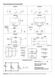resistors in series and parallel tes series and parallel circuit practice by mbrsci teaching resources tes