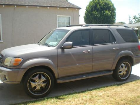 2002 Toyota Sequoia Mpg Sell Used 2002 Toyota Sequoia Limited Sport Utility 4 Door