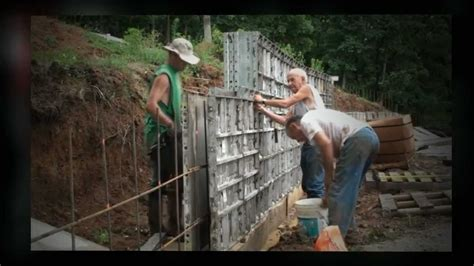 concrete form liners youtube