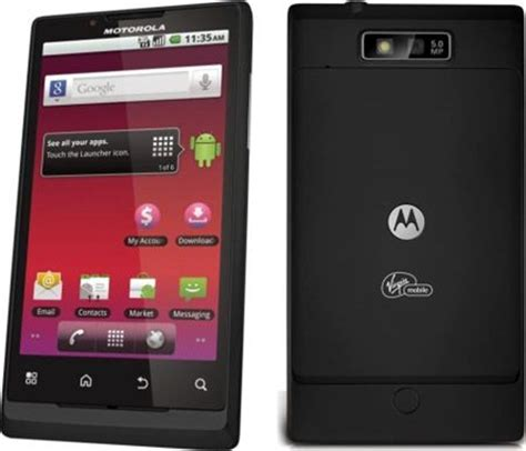 motorola triumph virgin mobile android powered