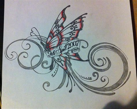 cross butterfly tattoo designs butterfly by mr p p hed on deviantart
