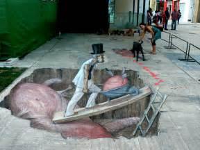 Street Art by Anamorphic Street Art By Eduardo Relero Otherfocus