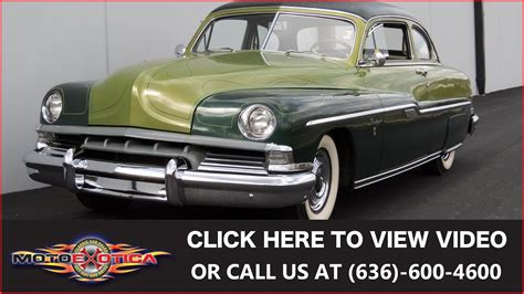 1951 Lincoln Lido by 1951 Lincoln Lido George Barris Custom Sold