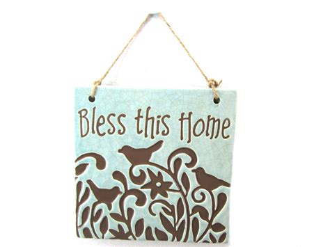 bless this home wall plaque jo