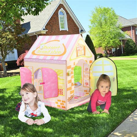kids backyard store kids indoor outdoor play tent cake shop playhouse playing