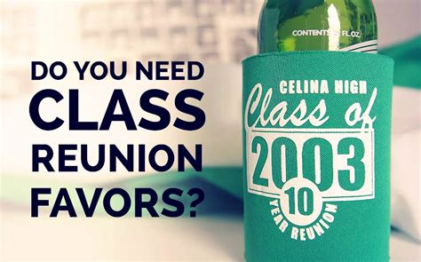 Reunion Giveaways - class reunion favors 9 of our favorite products