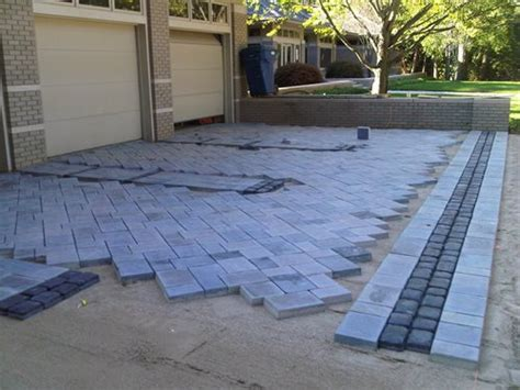 blue patio pavers paver installation landscaping network