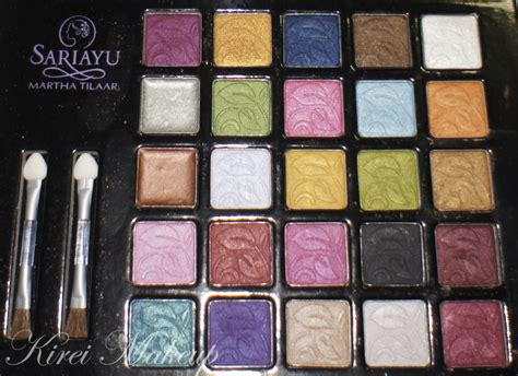 Sariayu Make Up Pallete refill eyeshadow sariayu eye shadow pallet nyx pac decay