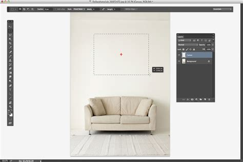 create a template to display your image as a mounted