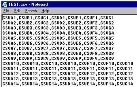 format of csv file namozag نموذج parsing csv file in j2me