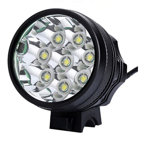 Led Bike Light bicycle lights bycicle light 8 led 9800lm rechargeable 18650 battery cycling light bike led