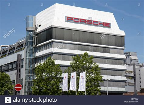 porsche headquarters germany porsche ag headquarters in stuttgart photo from