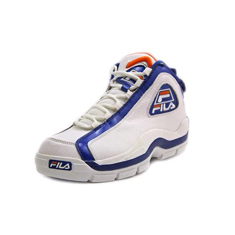 basketball shoes fila fila 96 leather basketball shoe new display ebay