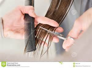 cutting hair so it hair cutting
