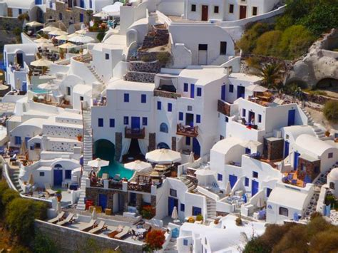 Kitchens With Islands Hotels In Santorini Greece