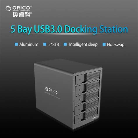Orico 4 Bay 3 5 Usb 3 0 Hd Enclosure 9548u3 V1 Bk Original orico tool free aluminum usb 3 0 5 bay 3 5 inch sata drive enclosure support 5x 8tb drive