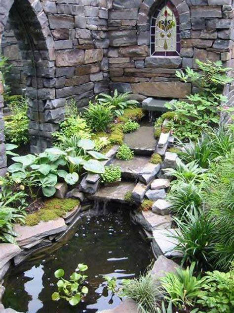 backyard garden ponds 30 beautiful backyard ponds and water garden ideas