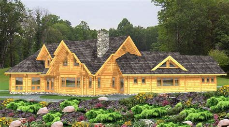 canada log home plans house design plans