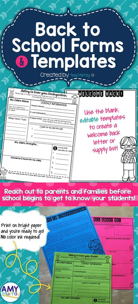 editable templates for teachers best 25 introduction letter ideas on