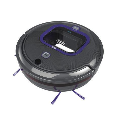 Vacuum Cleaner Denpoo Hrv 8009 black decker pet robotic vacuum with led and smartech walmart canada