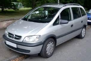 Opel Zafira Size Opel Zafira 3 High Quality Opel Zafira Pictures On