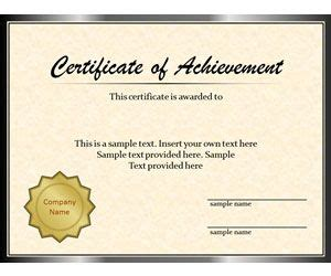 Diploma Template For Powerpoint Powerpoint Certificate Of Achievement Template