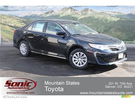 Toyota Paint Warranty Information 2012 Cosmic Gray Mica Toyota Camry Hybrid Le 60907279
