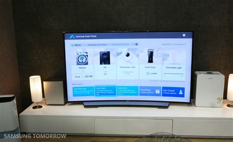samsung smart home technology it is quite clear what samsung wants to do in the future