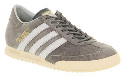 Sepatu Adidas Beckenbauer Allround Adidas Beckenbauer Allround Med Lead Grey Suede Exclusive Casual Trainer Shoes Ebay