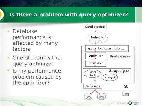 sql query optimization tutorial mysql mariadb query optimizer tuning tutorial from percona
