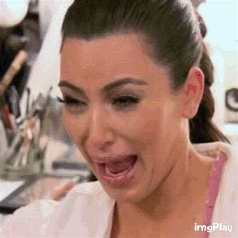 Kim Kardashian Crying Meme - school gif find share on giphy