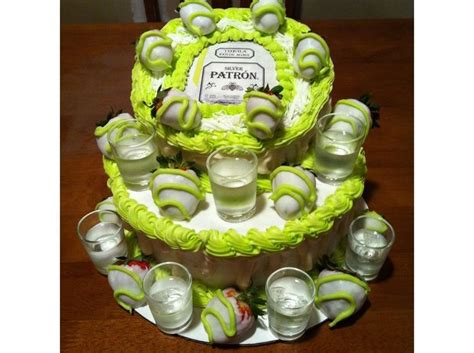 Patron Label For Cake