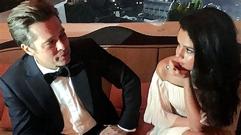 Brangelina Move To The Big Easy by Selena Gomez Gets Cozy With Brad Pitt At Golden Globes