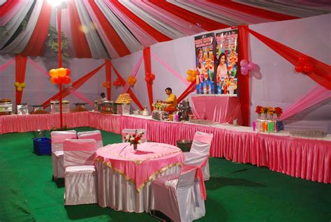 snayhil tent caterer in tent decoration