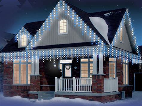 snowing icicle outdoor lights new christmas icicle 240 360 480 720 960 led snowing