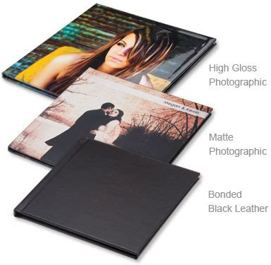 album cover coffee table book wedding album options 1stphotographer llc
