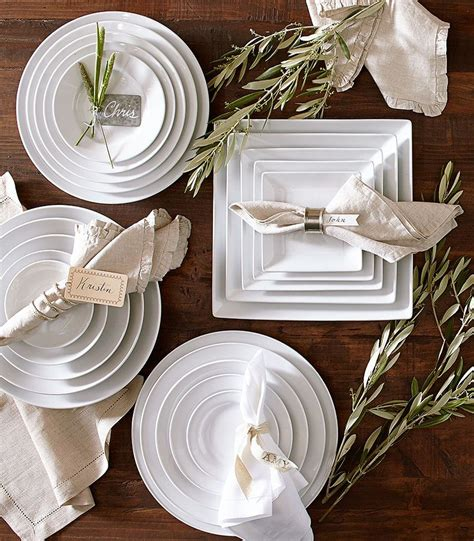 Pottery Barn White pottery barn s tips for choosing white dishes plus a giveaway