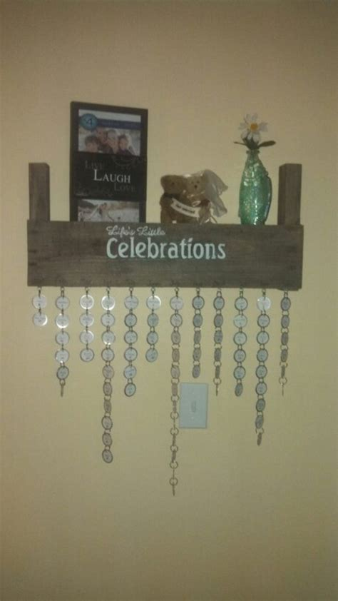 Calendar Hanging Hooks Make Your Own Hanging Birthday Calendar Diy Projects For