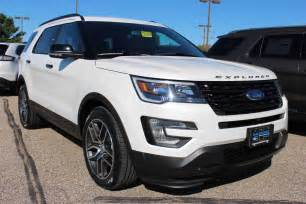 White Ford Explorer 2015 White Ford Explorer Autos Post