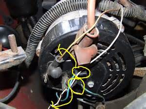 proper alternator wiring 91