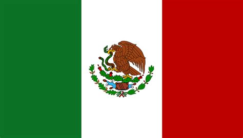 mexico flag mexican 183 free vector graphic on pixabay