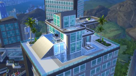 Building Kitchen Island the sims 4 city living gallery spotlight penthouses