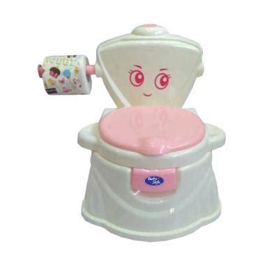 Babysafe Boys Potty Anak jual babysafe uf04 p to flush potty pink harga kualitas terjamin blibli